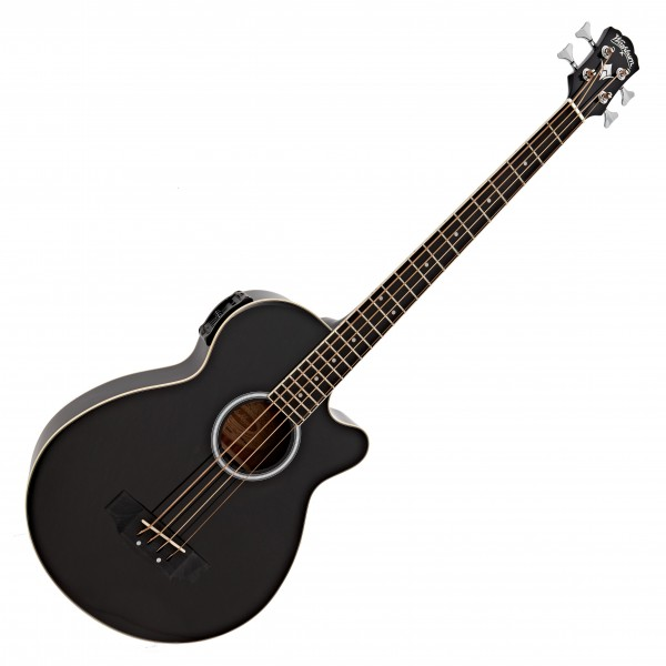 Washburn AB5 Acoustic Bass, Black