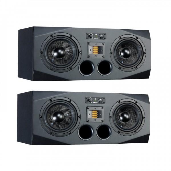 Adam A77X Active Studio Monitors, Pair - Full Bundle