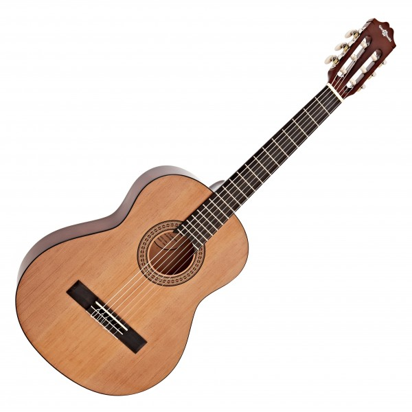 Deluxe Junior 1/2 Classical Guitar, Natural, by Gear4music