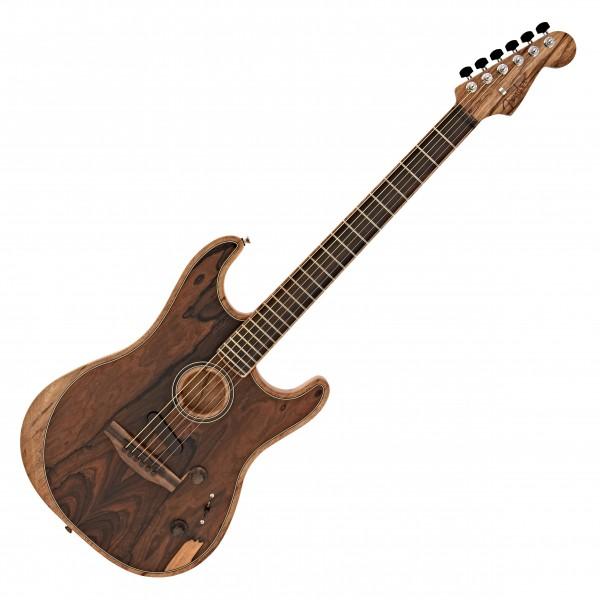 Fender Acoustasonic Stratocaster Exotic, Ziricote