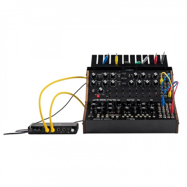 Moog Sound Studio DFAM and Mother 32 Synthesizer Bundle - Synth and Mixer