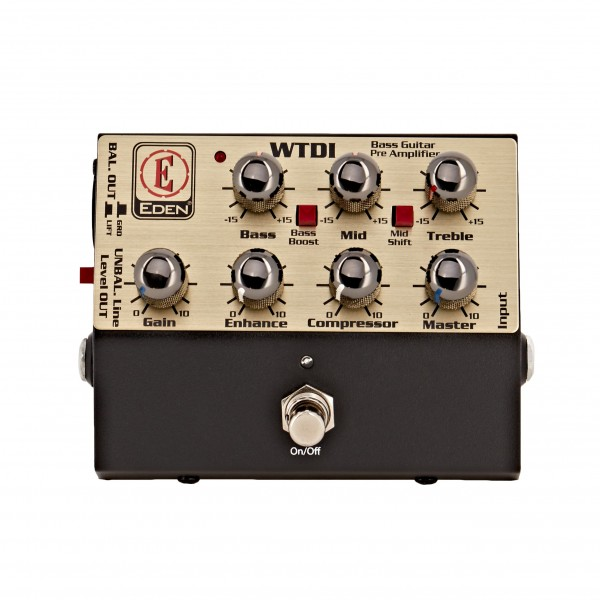 Eden WTDI World Tour DI & Bass Preamp