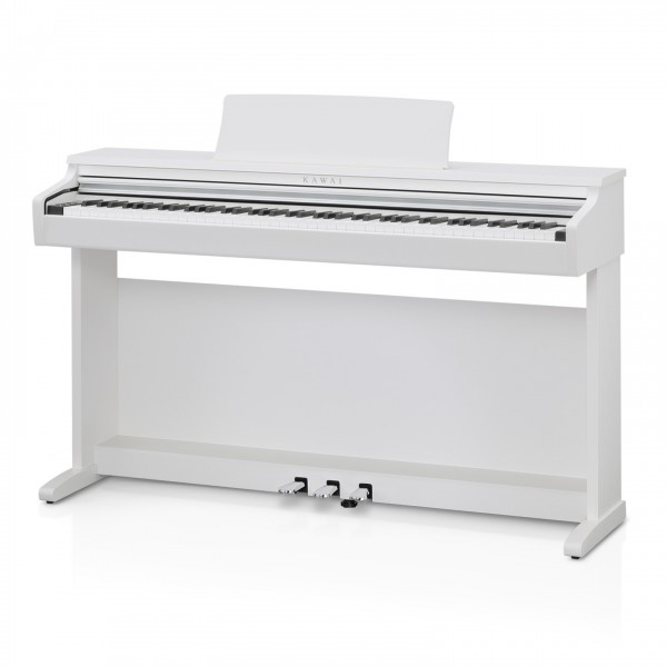 Kawai KDP120 Digital Piano, Satin White