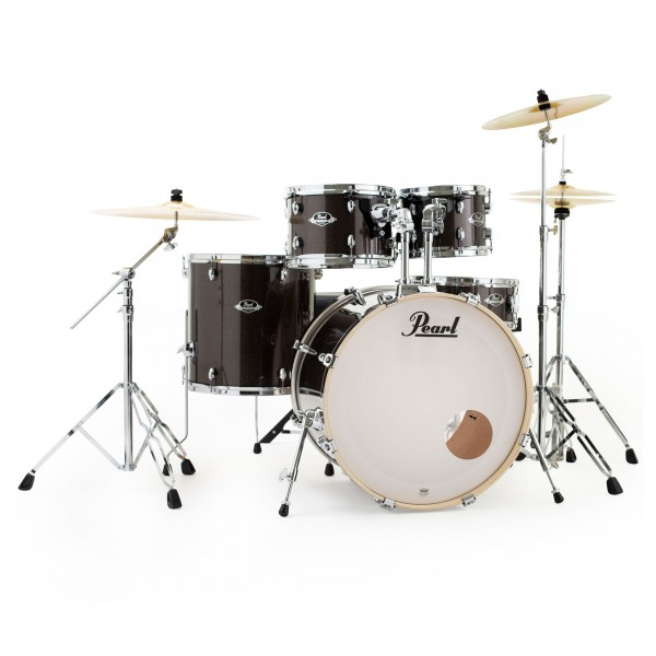 Pearl Export 22'' Am.Fusion 5pc Drum Kit w/Cymbals, Night Sky Sparkle