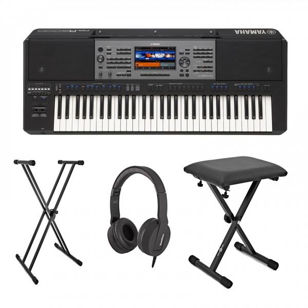 Yamaha PSR A5000 Oriental Portable Keyboard Package