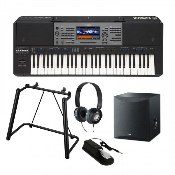 Yamaha PSR A5000 Oriental Portable Keyboard Premium Package