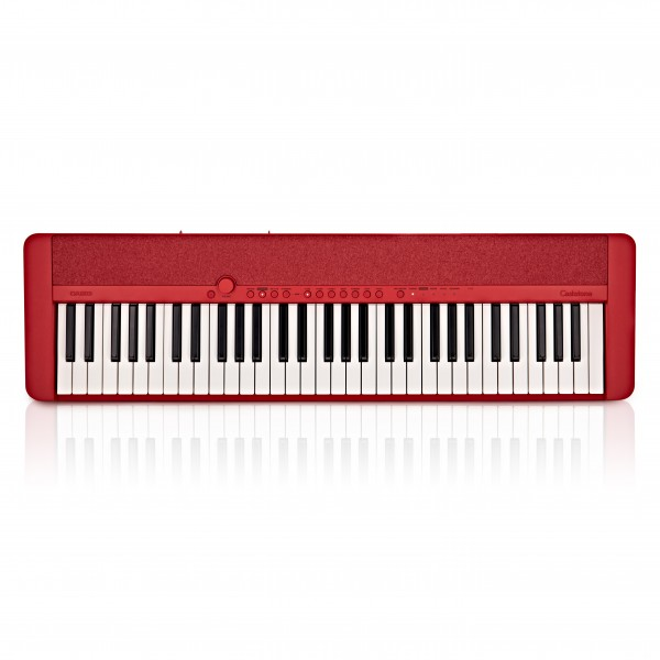 Casio CT-S1 Portable Keyboard, Red