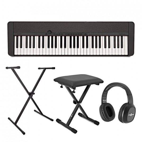 Casio CT-S1 Portable Keyboard Package, Black