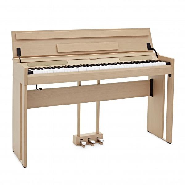 DP-12 Compact Digital Piano by Gear4music, Light Oak
