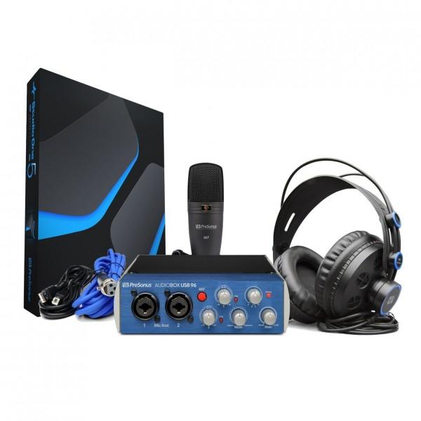 PreSonus Audiobox 96 Studio with Studio One V5 Artist