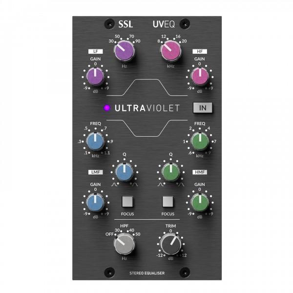 SSL Ultraviolet 500 Series Stereo Equaliser EQ - Front
