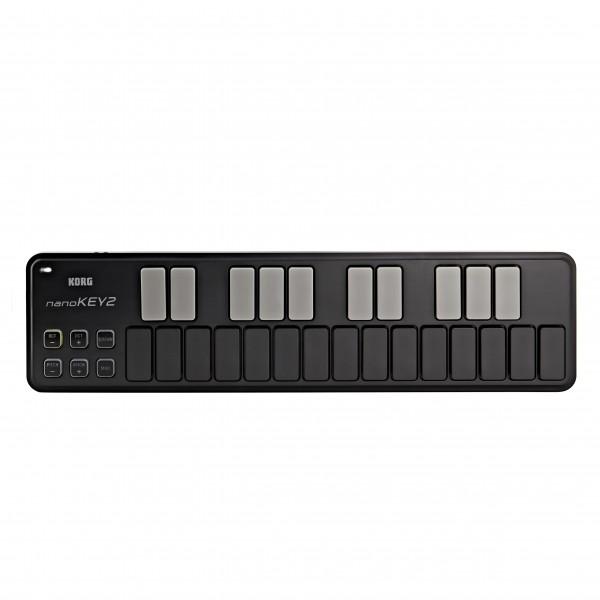 Korg nanoKEY2 USB MIDI Controller, Black