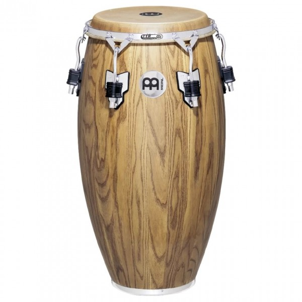 "Meinl WC1134ZFA-M 11 3 /4"" Woodcraft Wood Conga, Zebra Finished Ash"
