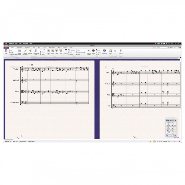 Sibelius 1-Year Subscription, Digital Delivery - Import MusicXML
