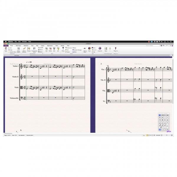 Sibelius Perpetual License, Digital Delivery - MusicMXL Import