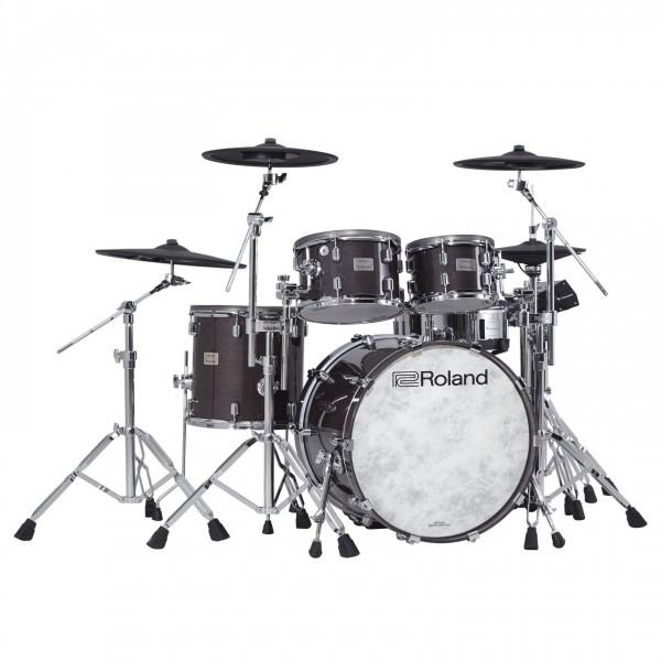 Roland VAD-706 V-Drums Acoustic Design Drum Kit, Gloss Ebony