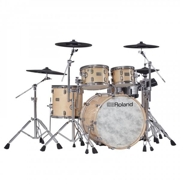 Roland VAD-706 V-Drums Acoustic Design Drum Kit, Gloss Natural