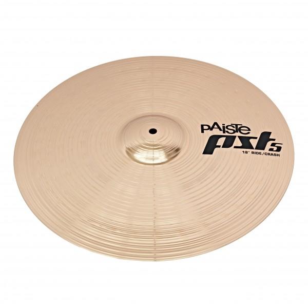 Paiste PST 5 N 18'' Ride/Crash Cymbal