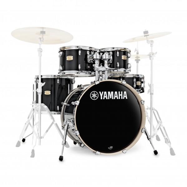 Yamaha Stage Custom Birch 20'' 5pc Shell Pack, Raven Black