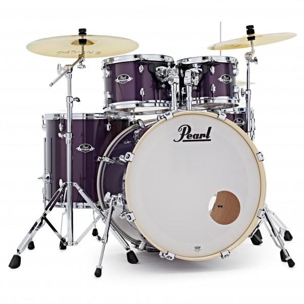 Pearl Export EXX 22'' Am. Fusion Drum Kit, Purple Nebula