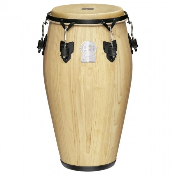 """Meinl 12 1/2"""" Artist Series Luis Conte Wood Conga - Natural Finish"""