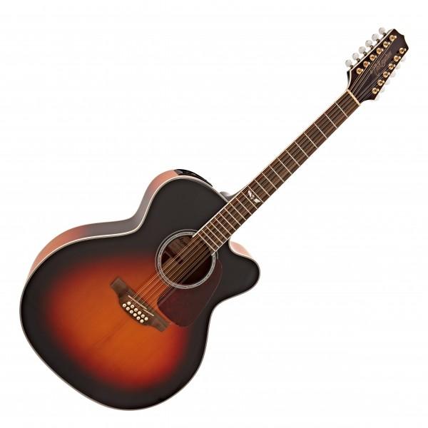 Takamine GJ72CE 12 String Electro Acoustic, Sunburst
