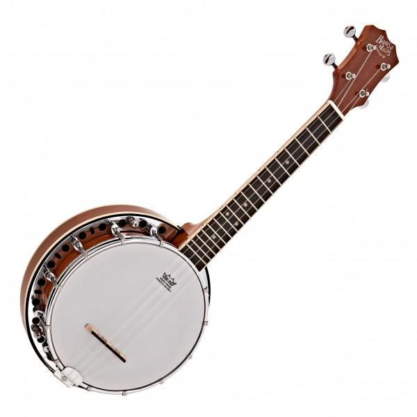 Barnes & Mullins UBJ1 Banjo Ukulele, Closed Back