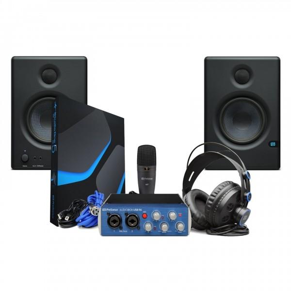 PreSonus Audiobox 96 Studio Bundle - Full Bundle