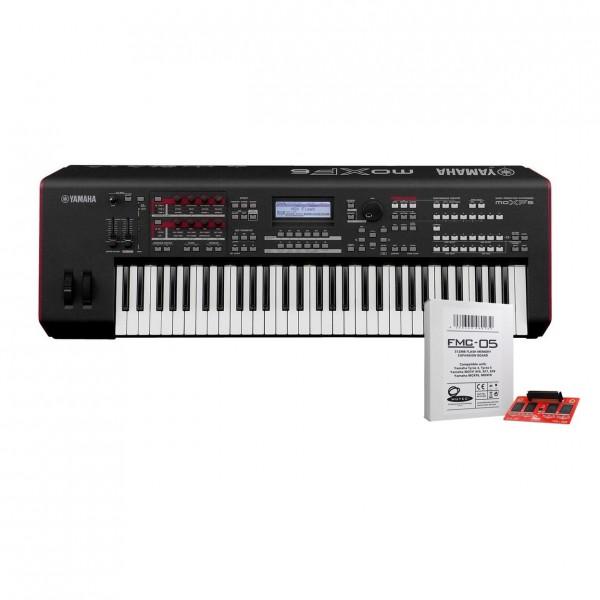 Yamaha MOXF6 Synthesizer with Expansion Card - Full Bundle