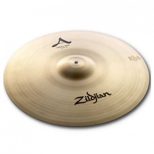 Zildjian A 21'' Sweet Ride Cymbal, Traditional Finish