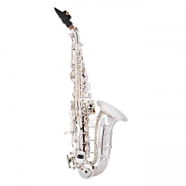 Conn-Selmer DSS180 Avant Soprano Saxophone, Curved, Silver Plate