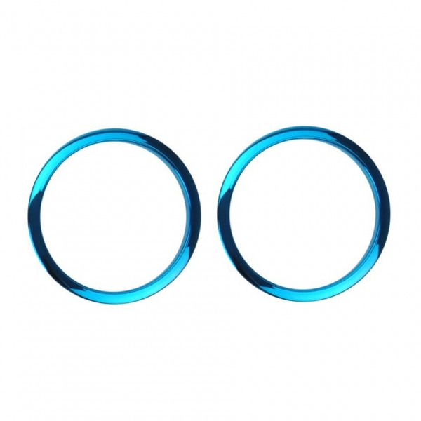 "Bass Drum O's 2"" Sound Hole Rings, Blue"