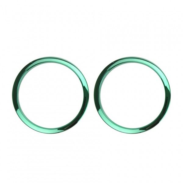 "Bass Drum O's 2"" Sound Hole Rings, Green"