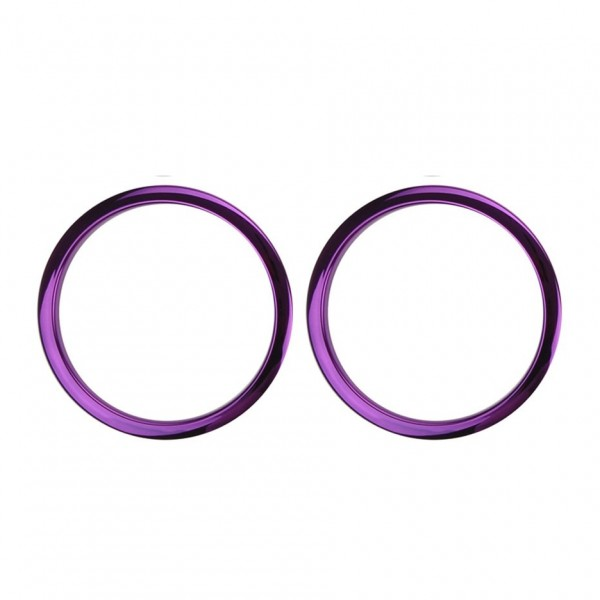 """Bass Drum O's 2"""" Sound Hole Rings, Purple"""