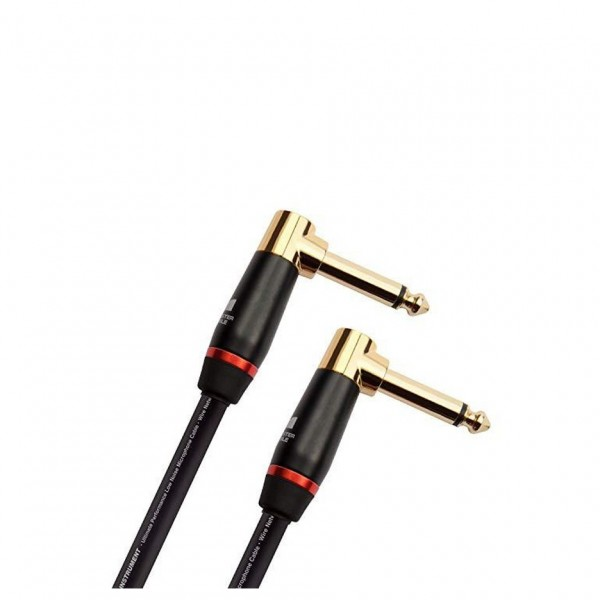 """Monster Prolink Bass 8"""" Angled Patch Cable"""