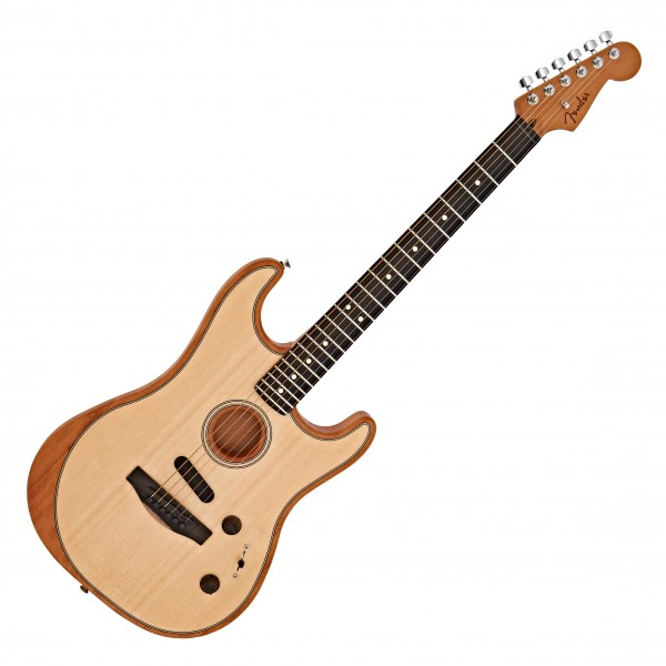 Fender American Acoustasonic Strat, Natural