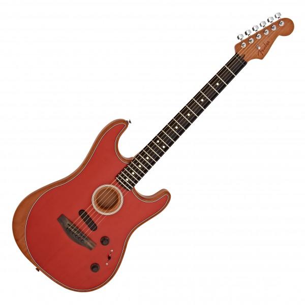 Fender American Acoustasonic Strat, Dakota Red