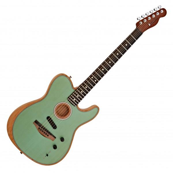 Fender American Acoustasonic Telecaster, Surf Green