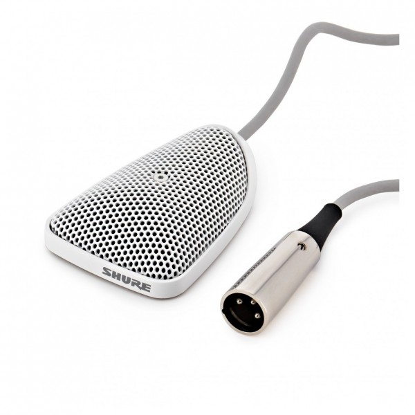 Shure Centraverse CVB-W/O Omnidirectional Boundary Microphone, White