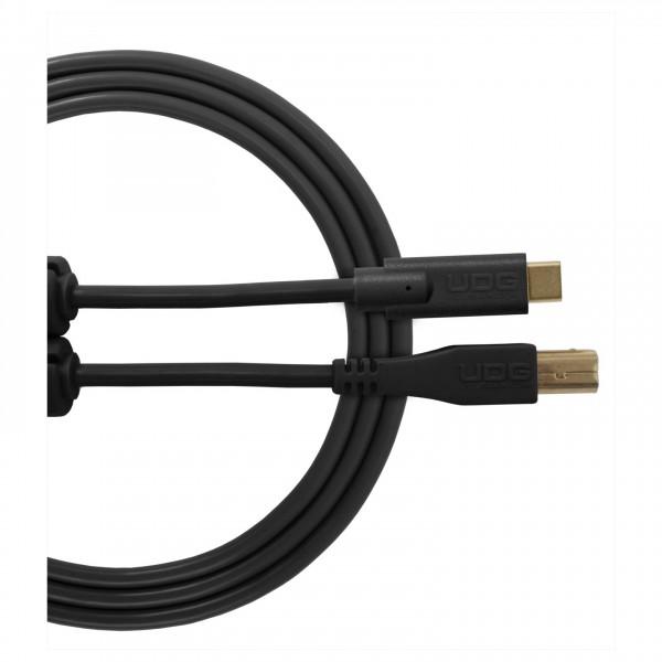 UDG Cable USB 2.0 (Type C-B) Straight 1.5M Black