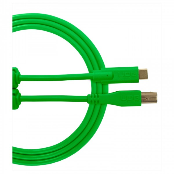 UDG Cable USB 2.0 (Type C-B) Straight 1.5M Green