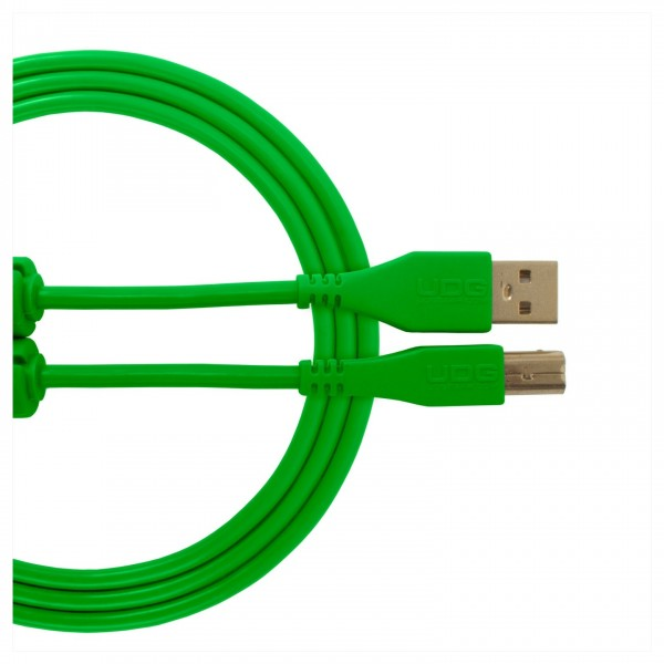 UDG Cable USB 2.0 (A-B) Straight 2M Green