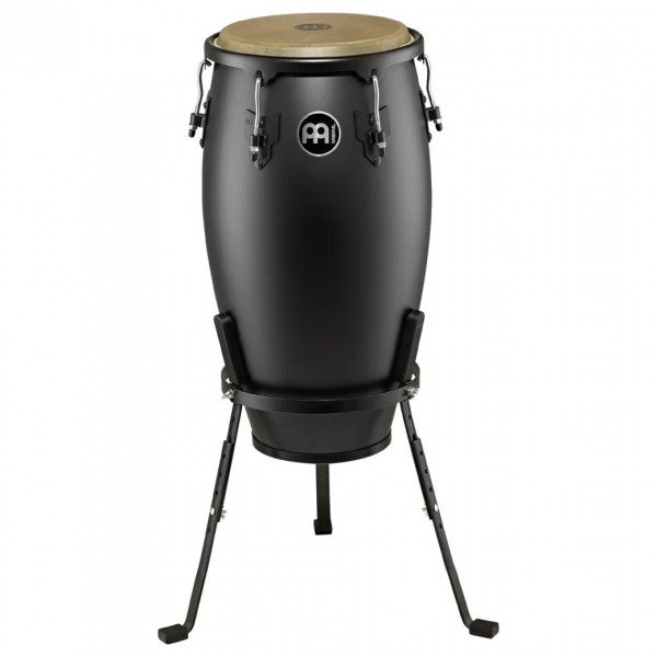 "Meinl Headliner Designer 12"" Conga with Stand, Phantom Black"