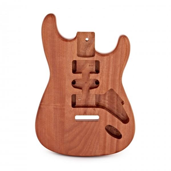 Electric Guitar Body, Natural Mahogany