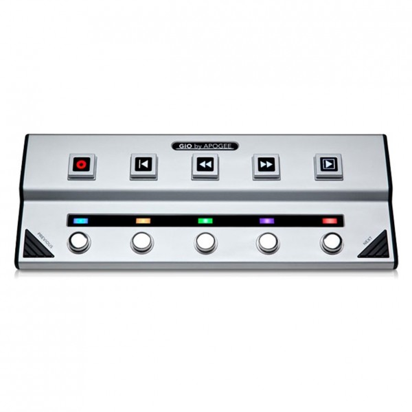 Apogee GiO USB Guitar Interface and Foot Controller for Mac - Front