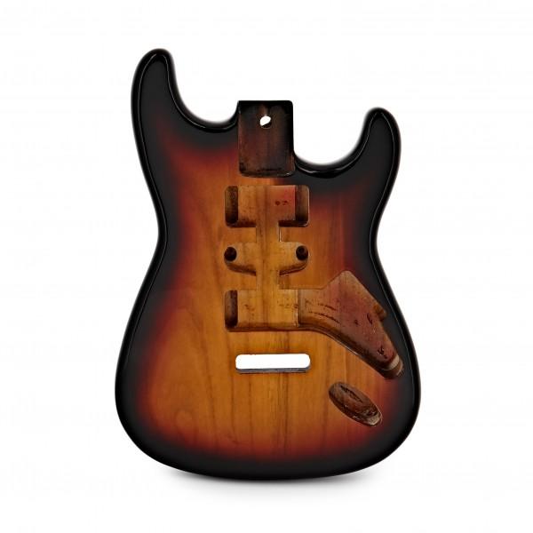 Electric Guitar Body, Vintage Sunburst