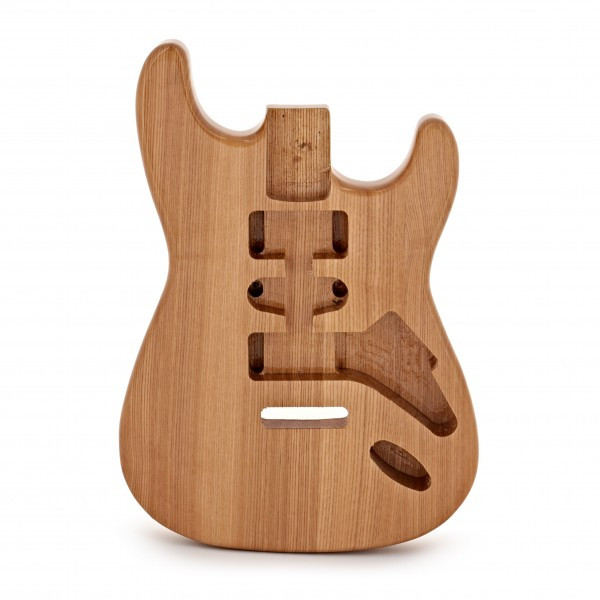 Electric Guitar Body, Natural Ash
