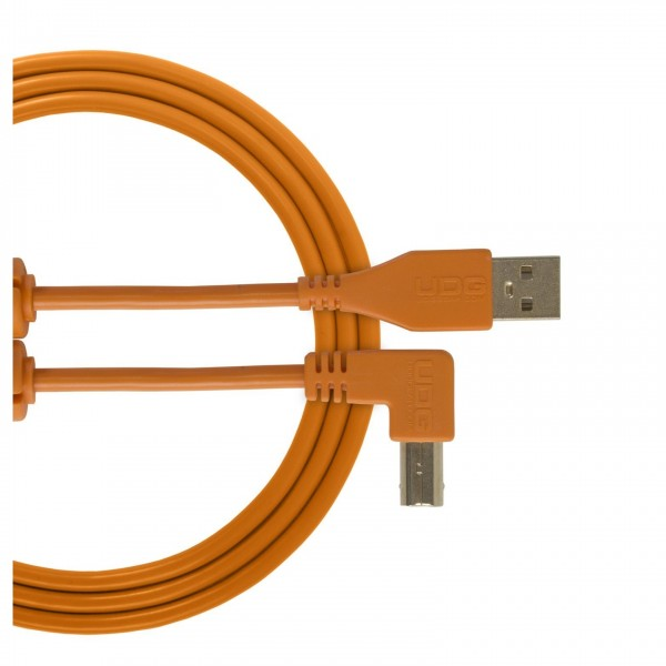 UDG Cable USB 2.0 (A-B) Angled 1M Orange - Main