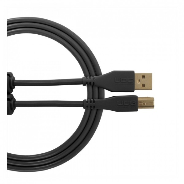 UDG Cable USB 2.0 (A-B) Straight 1M Black