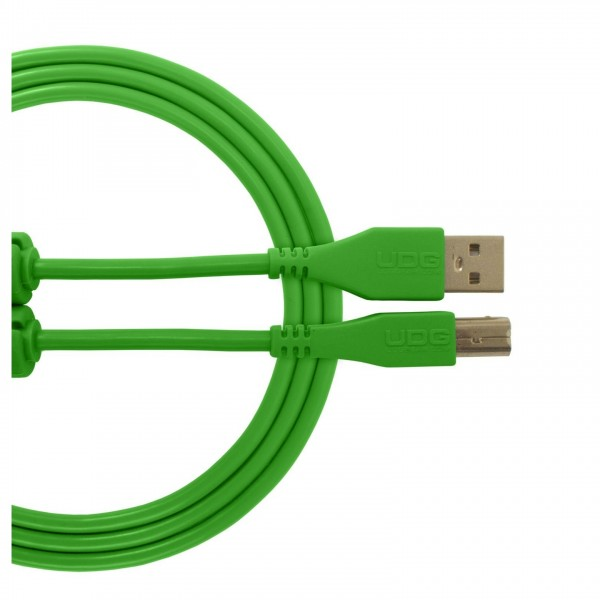 UDG Cable USB 2.0 (A-B) Straight 1M Green - Main